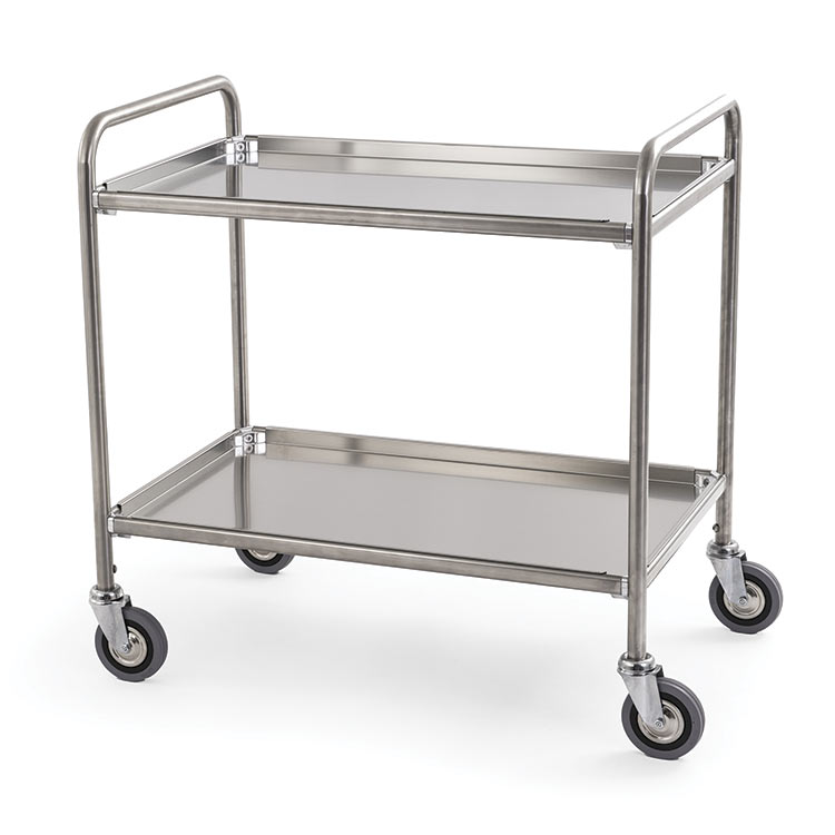 Steel Trolley 2 Shelves