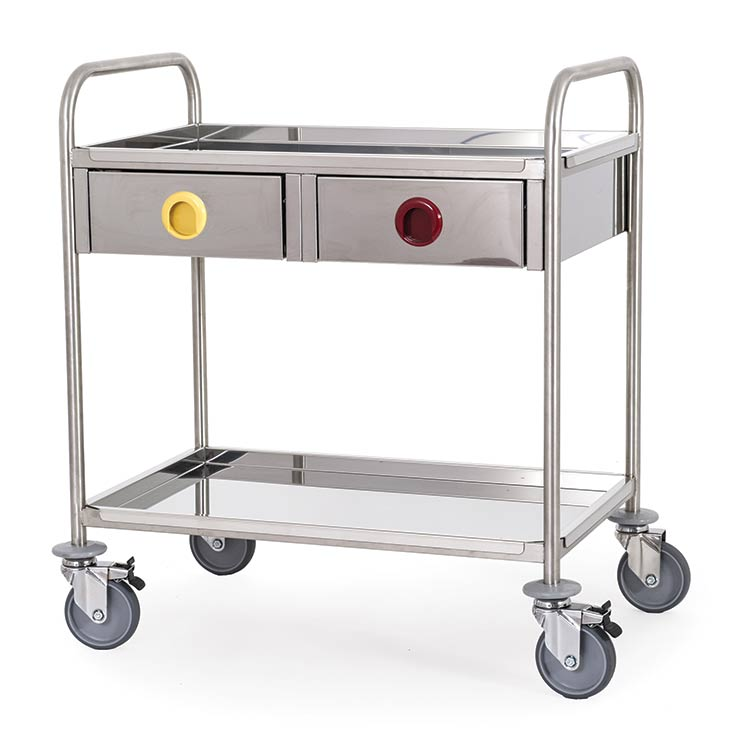 Steel Trolley Drawers