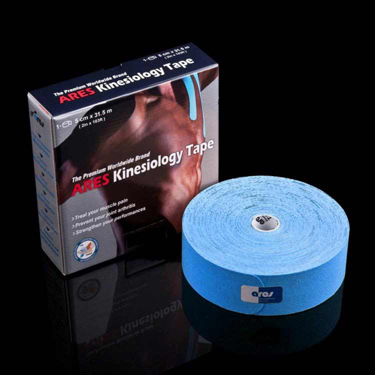 Kinesiology tape colore blu rotolo da 32 mt
