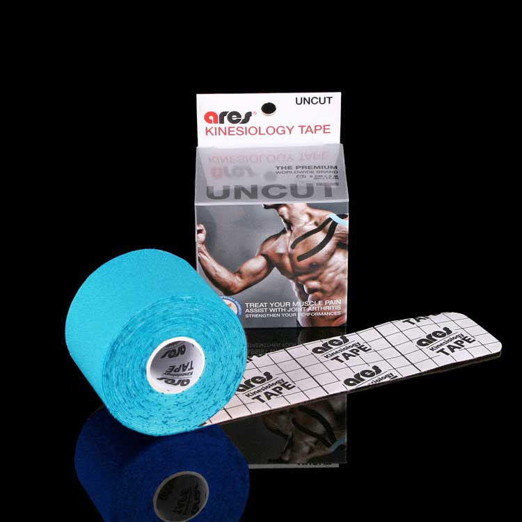Kinesiology tape colore blu