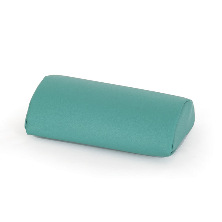Green half-roll cushion Adone
