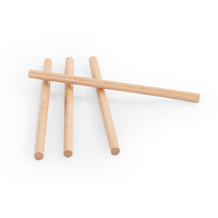 Sticks for parallel bar platform with dividers